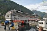 Norvegia - Geiranger - in port