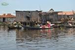 Benin - Ganvie - piata pe apa...