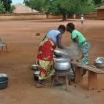 Benin - Abomey - Palatele regilor Guezo si Glele