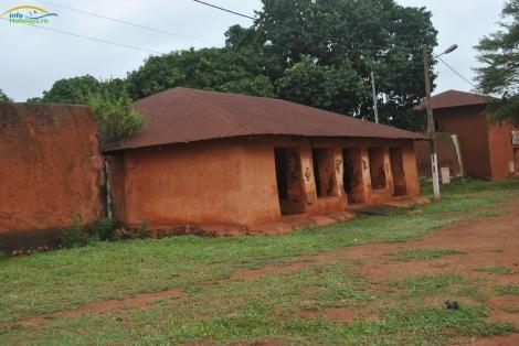 Palatele regilor Guezo si Glele1