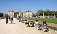 Luxembourg Gardens free time