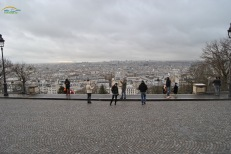 Panoramic view above Montmartre