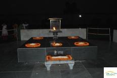 Delhi - Raj Gat - locul de incinerare al mul Mahatma Gandhi