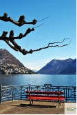 Relaxing time by the lake in Lugano