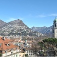 The Cathedral of Saint Lawrence and Lugano City