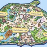 Disneylan Paris Map