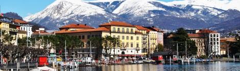 Lugano panoramic view