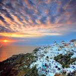 Panoramic view - Santorini