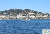 Sea view of Croisette - Cannes