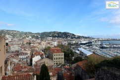 Panoramic view Cannes