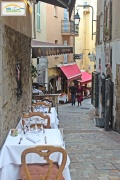Restaurants in old part of the city - Cannes