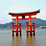Japonia - Circuit -Itsukushima Shrine - Miyajima