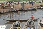 Benin - Ganvie - port de imbarcare