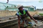 Benin - Ganvie - localnica