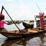 Benin - Ganvie - barci traditionale