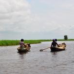 Benin - Ganvie - spre sat!