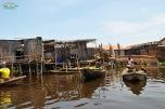 Benin - satul Ganvie