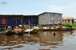 Benin - Ganvie - piata locala plutitoare