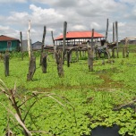 Benin - Ganvie - o mica delta!