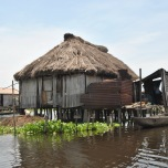 Benin - Ganvie - case