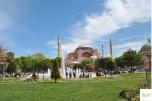 Istanbul - Hagia Sofia view