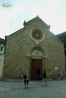 Church of San Lorenzo Manarola