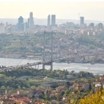 Istanbul - Chamlika - Golden Horn