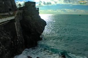 Monterosso rocks