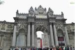 Istanbul - Dolmabahce Palace - Main entrance