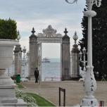 Istanbul - Dolmabahce Palace - Sea entrance