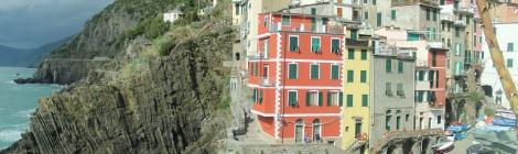 Riomaggiore houses