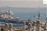 Istanbul - Suleymanie Bosfor view