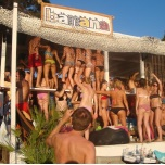 Party at Banana Beach Skiathos