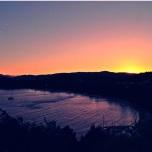 Sunset at Koukounaries Beach - Skiathos Island