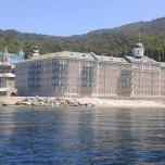 Muntele Athos - Drum cu ferry boat-ul spre portul Dafni