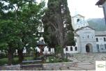 Biserica din cadrul Skitului romanesc Prodromul