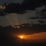Rasarit de soare la Manastirea Marea Lavra