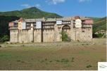 Manastirea Iviron - vedere exterioara