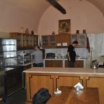 Camera rezervata pelerinilor pentru o scurta odihna - Manastirea Iviron
