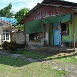 Local house in Penyengat Island