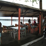 Local restaurant in Penyengat Island